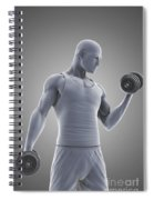 Exercise Workout Spiral Notebook