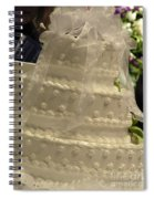 #775 D138 Cake All White  Spiral Notebook