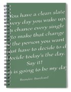 79- Brendon Burchard  Spiral Notebook
