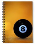 8 Ball Spiral Notebook