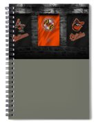 Baltimore Orioles Spiral Notebook
