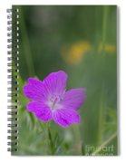 Bloody Geranium Spiral Notebook