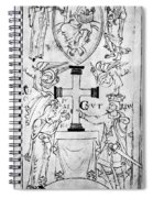 Canute I (c995-1035) Spiral Notebook