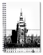 Cathedral Of St Vitus Spiral Notebook