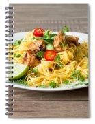 Chicken Noodles Spiral Notebook