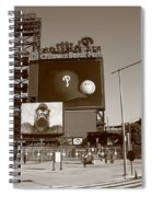 Citizens Bank Park - Philadelphia Phillies Spiral Notebook