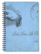 Civil War Letter, C1863 Spiral Notebook