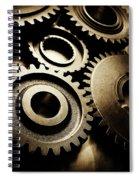 Cogs Spiral Notebook