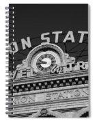 Denver - Union Station Spiral Notebook