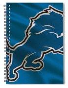 Detroit Lions Uniform Spiral Notebook