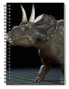 Dinosaur Diceratops Spiral Notebook