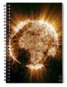 Earths Energy Spiral Notebook