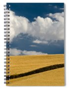 Farm Field Spiral Notebook