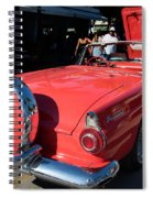 Ford Thunderbird Spiral Notebook