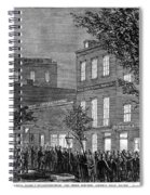 Johnson Impeachment, 1868 Spiral Notebook