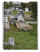 Key West Cemetery Spiral Notebook