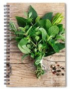 Kitchen Herbs Spiral Notebook