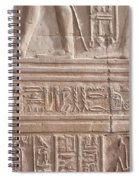 Kom Ombo Temple Spiral Notebook