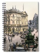 London Piccadilly Circus Spiral Notebook