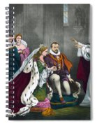 Mary, Queen Of Scots Spiral Notebook