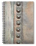 Metal Background Spiral Notebook