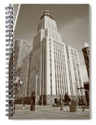 Minneapolis Skyscrapers Spiral Notebook