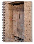 Mud Brick Village Spiral Notebook