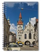 Munich Germany Spiral Notebook
