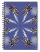 8 Planes Spiral Notebook