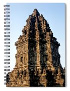 Prambanan Temple In Indonesia Spiral Notebook