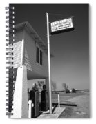 Route 66 - Lucille's Gas Station Spiral Notebook