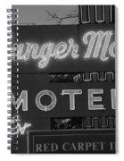 Route 66 - Munger Moss Motel Spiral Notebook