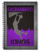 Sacramento Kings Spiral Notebook