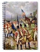 Saratoga: Surrender, 1777 Spiral Notebook