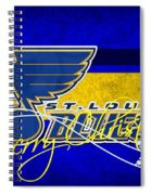 St Louis Blues Spiral Notebook
