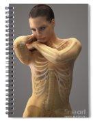 The Skeletal System Female Spiral Notebook