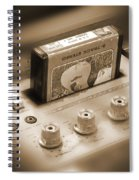 8-track Tape Player Spiral Notebook