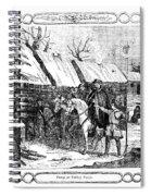 Valley Forge, Winter 1777 Spiral Notebook