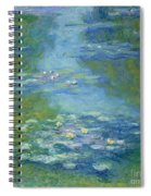 Waterlilies Spiral Notebook