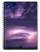 Wicked Good Nebraska Supercell Spiral Notebook