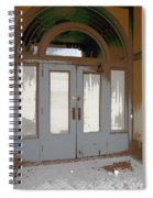 806 North - Out Of The Weather Spiral Notebook