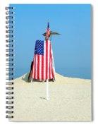 9-11 Beach Memorial Spiral Notebook