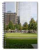 9/11 Grass Spiral Notebook