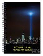 9/11 Tribute Spiral Notebook
