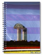 9-11 We Will Never Forget 2011 Poster Spiral Notebook