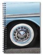 1956 Chevrolet Bel Air Convertible Spiral Notebook