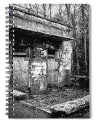 Abandoned Sanatorium Spiral Notebook