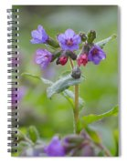 Common Lungwort Spiral Notebook