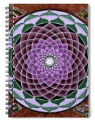 Cosmic Flower Mandala 6 Spiral Notebook