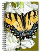 Eastern Tiger Swallowtail Butterfly Spiral Notebook